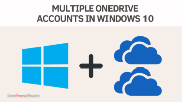How to Add and Manage Multiple OneDrive Accounts in Windows 10
