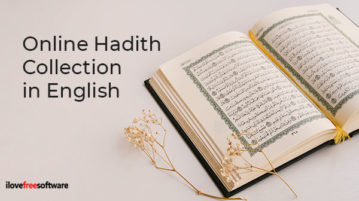 Online Hadith Collection in English