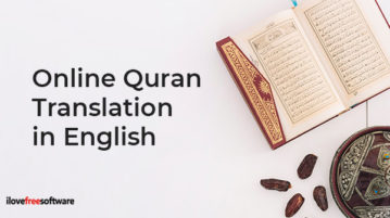 Online Quran Translation in English
