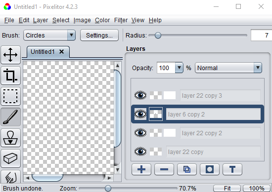 Raster Graphics Editor Software