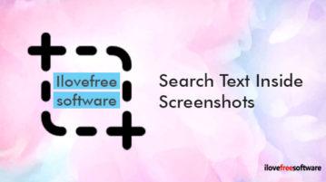 Search Text Inside Screenshots