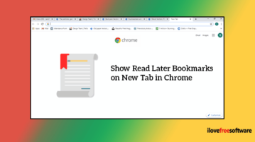 Show Read Later Bookmarks on a New Tab in Chrome
