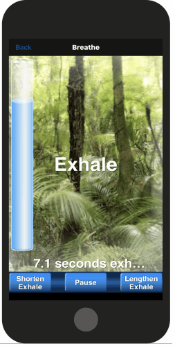 breathing app for iPhone