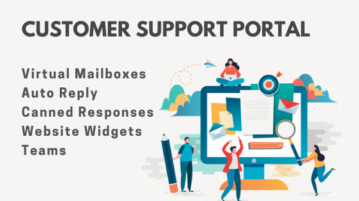 Free Online Customer Support Portal with Auto Reply, Virtual Mailboxes