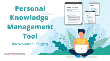 Free Online Personal Knowledge Management Tool to Organize Thoughts
