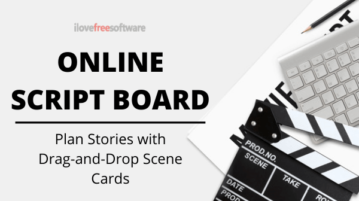 Free Online Script Board to Plan Stories with Drag-and-Drop Scene Cards