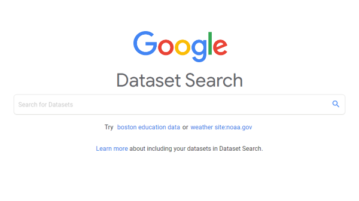 How to use Google Dataset Search to Find Databases Across the Web?