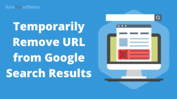 How to Temporarily remove URL from Google Search Results using Google Search Console?