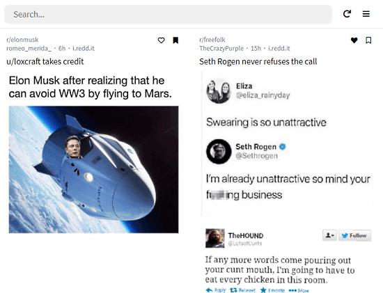 manage saved posts on reddit