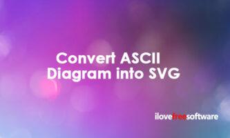 Convert ASCII Diagram into SVG Online: Svgbob Editor