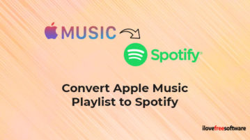 Convert Apple Music Playlist to Spotify