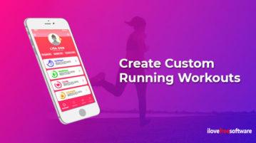 Create Custom Running Workouts