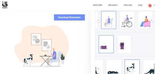 Customize Illustrations Online.