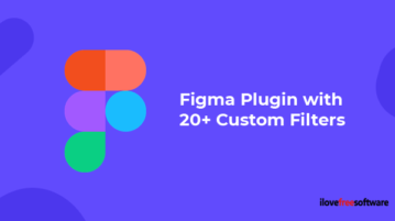 Figma Plugin with 20+ Custom Filters