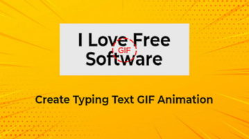 Free Online GIF Generator to Create Typing Text GIF Animation 1