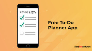 Free To-Do Planner App