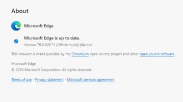 Google Chrome Extensions in Microsoft Edge Chromium