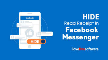 Hide Read Receipt in Facebook Messenger