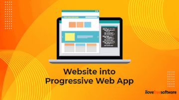 How To Turn Any Website into Progressive Web App in Edge Chromium
