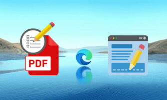 How to Edit PDF Forms, Sign Documents with PDF Viewer in Edge Chromium?