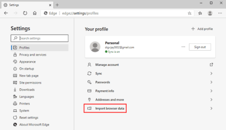 How to Import Firefox Bookmarks to Edge Chromium 2