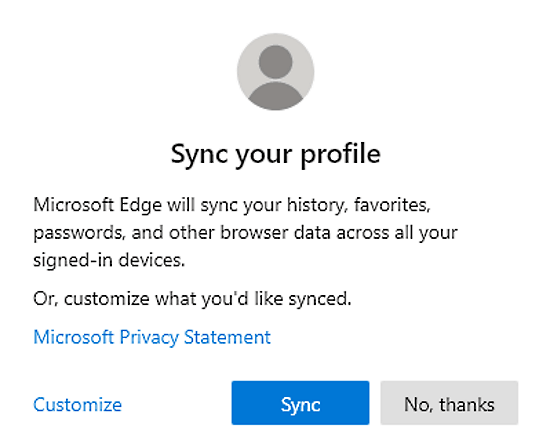 How to Sync Bookmarks, Passwords, Extensions in Microsoft Edge Chromium 3