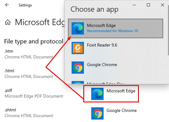 How to Use Edge Chromium as Default PDF Viewer on Windows 10 3