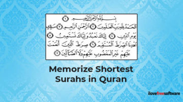 Memorize Shortest Surahs in Quran