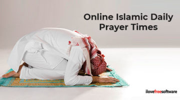 Online Islamic Daily Prayer Times