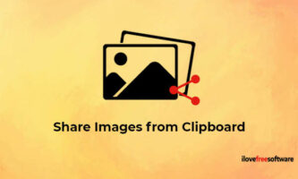 Annotate and Share Images from Clipboard Using Control V