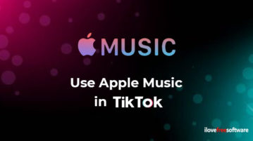 Use Apple Music in TikTok app