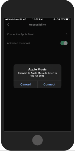 Use Apple Music in TikTok app