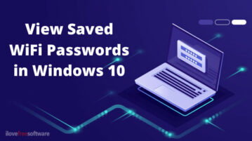 Free Methods to View Saved WiFi Passwords on Windows 10