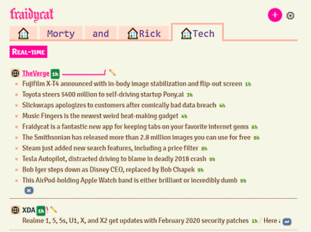multi-purpose rss reader desktop app