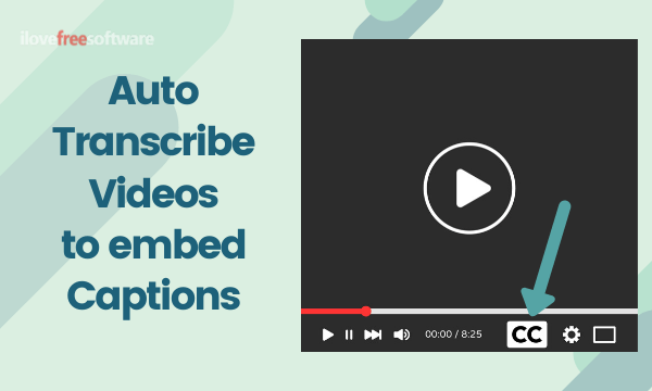 Automatically Transcribe Videos, Embed Captions for Free: Subly