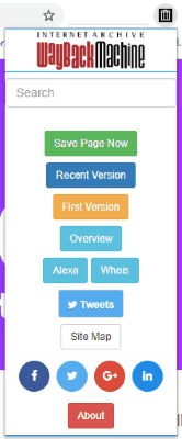 click on the extension icon to view its option