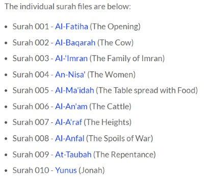 download Quran Mp3