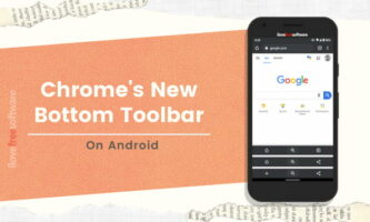 How to Get a Bottom Toolbar in Chrome on Android?