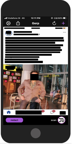 redact sensitive data from images