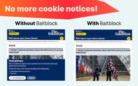 block 1st party cookies on websites