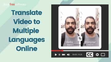 Automatically Translate Videos to Multiple Languages Online, Embed Captions