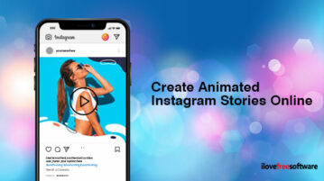Create Animated Instagram Stories Online