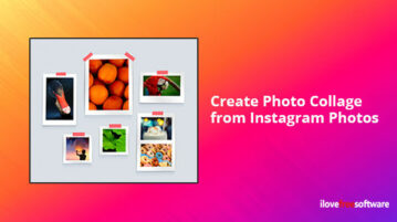 Create Photo Collage from Instagram Photos