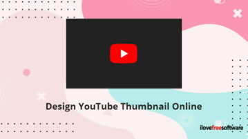 Design YouTube Thumbnail Online