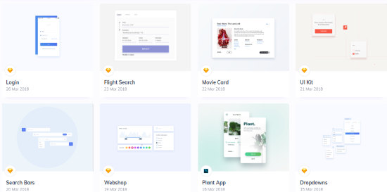 Get Weekly UI Design Resources