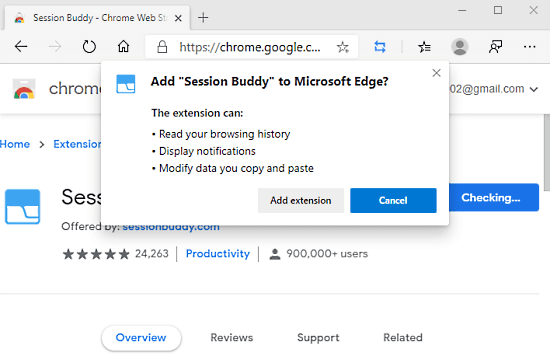 How to Restore a Previous Session in Microsoft Edge Chromium 2