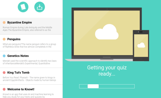 How to Turn Any Document Webpage Into Practice Quiz