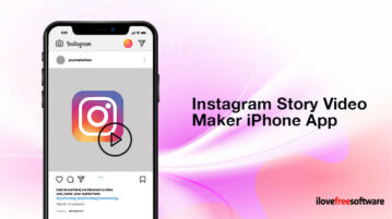 Instagram Story Video Maker iPhone App