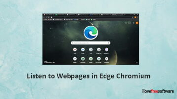 Listen to Webpages with 'Read Aloud' Feature in Microsoft Edge Chromium