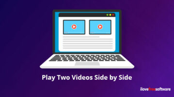 Play Two Videos Side by Side